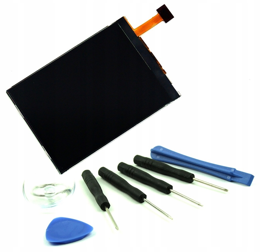 EKRAN LCD WYŚWIETLACZ NOKIA N95 N96 8GB NARZĘDZIA