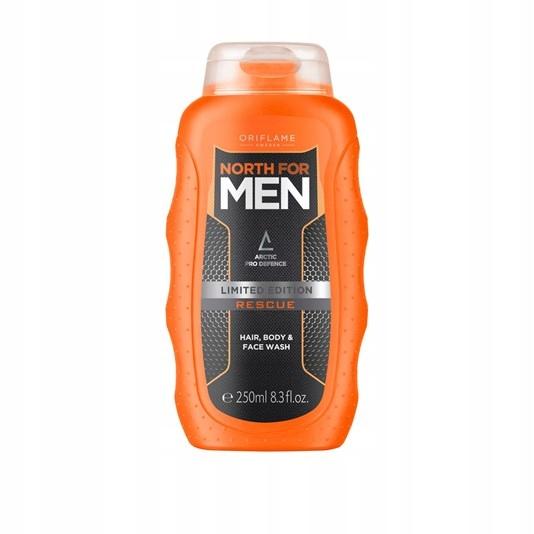 Żel do mycia ciała, twarzy i włosów North for Men