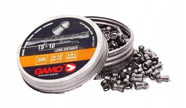 Gamo - Śrut TS-10 - 200 szt. - 4,5 mm