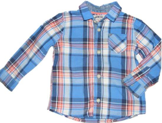 MARKS&SPENCER bawełniana koszula krata 98 cm