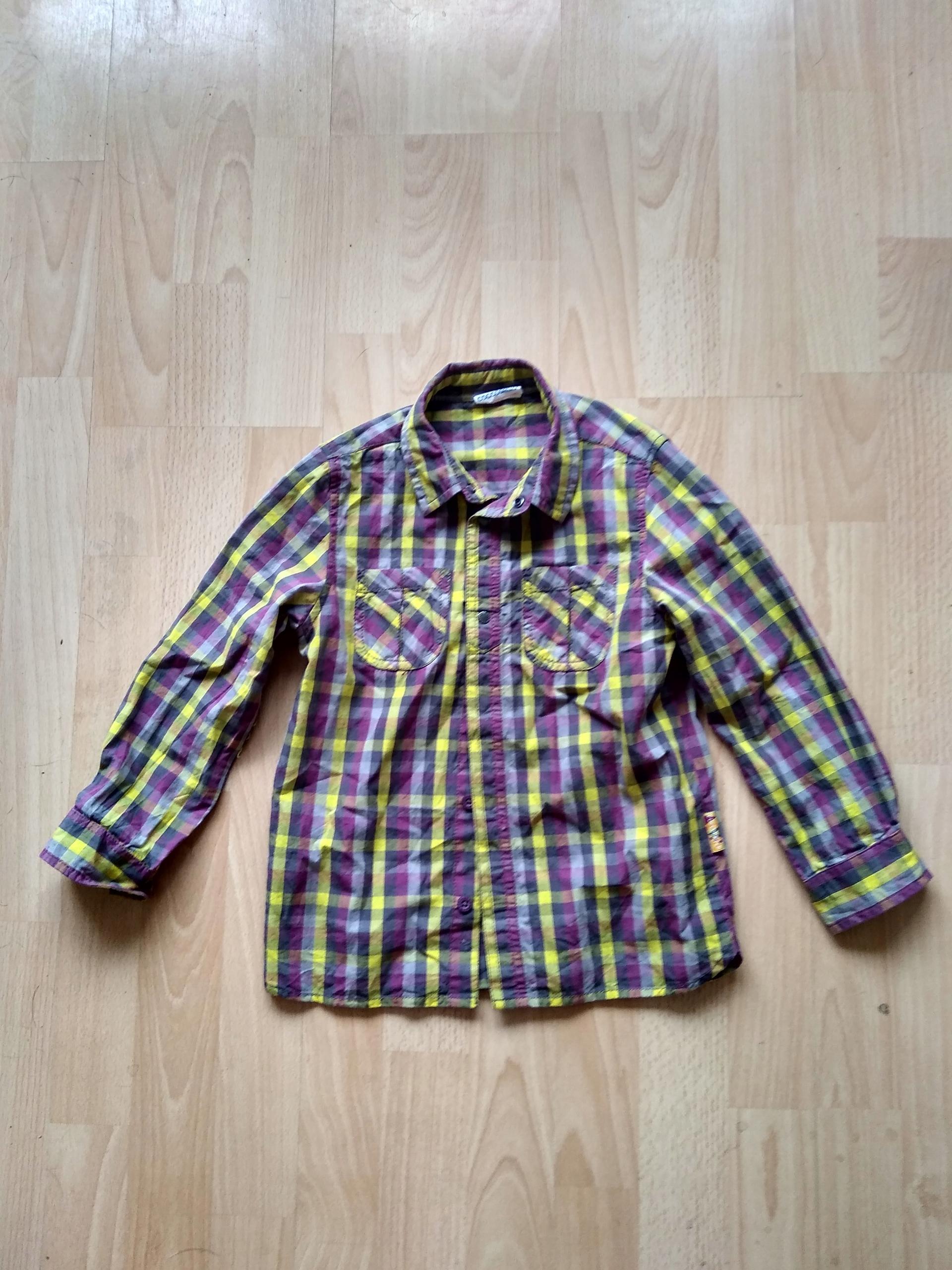 COCCODRILLO fajna koszula zatrzaski 110