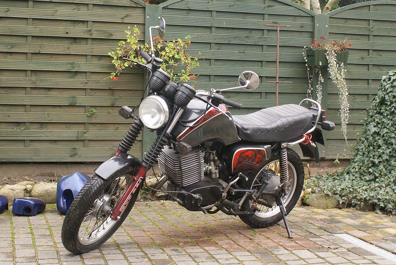 MZ ETZ 250 Unusual Version 1994 21K £1 Start Easy Repair