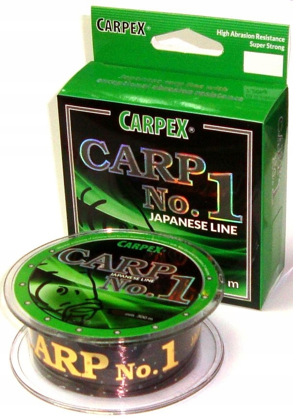 Żyłka karpiowa Carp No.1 0,30mm 10,4kg 300m Carpex