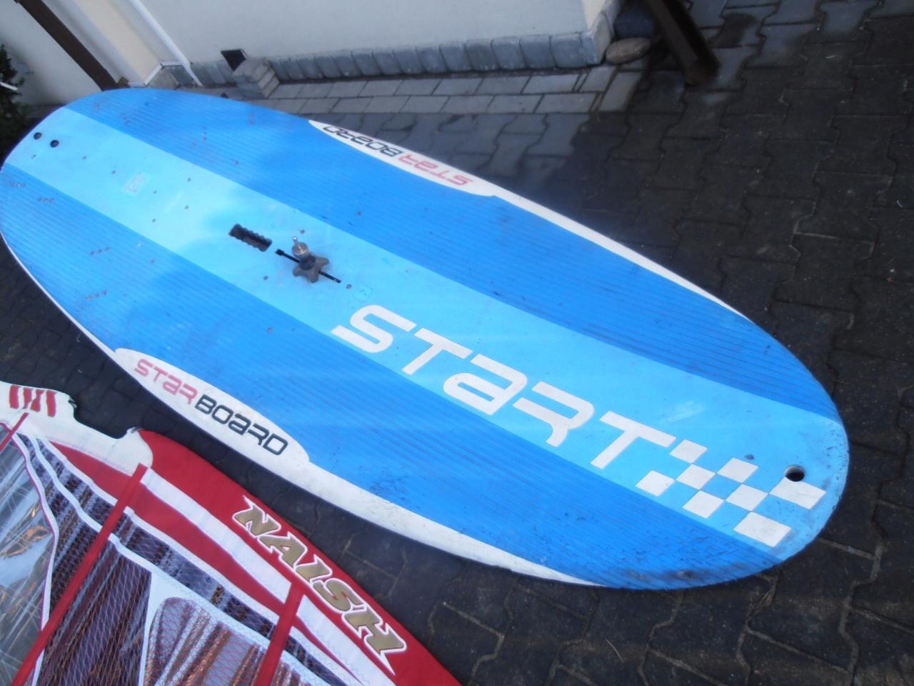 deska mieczowa starboard 280x100 cm.
