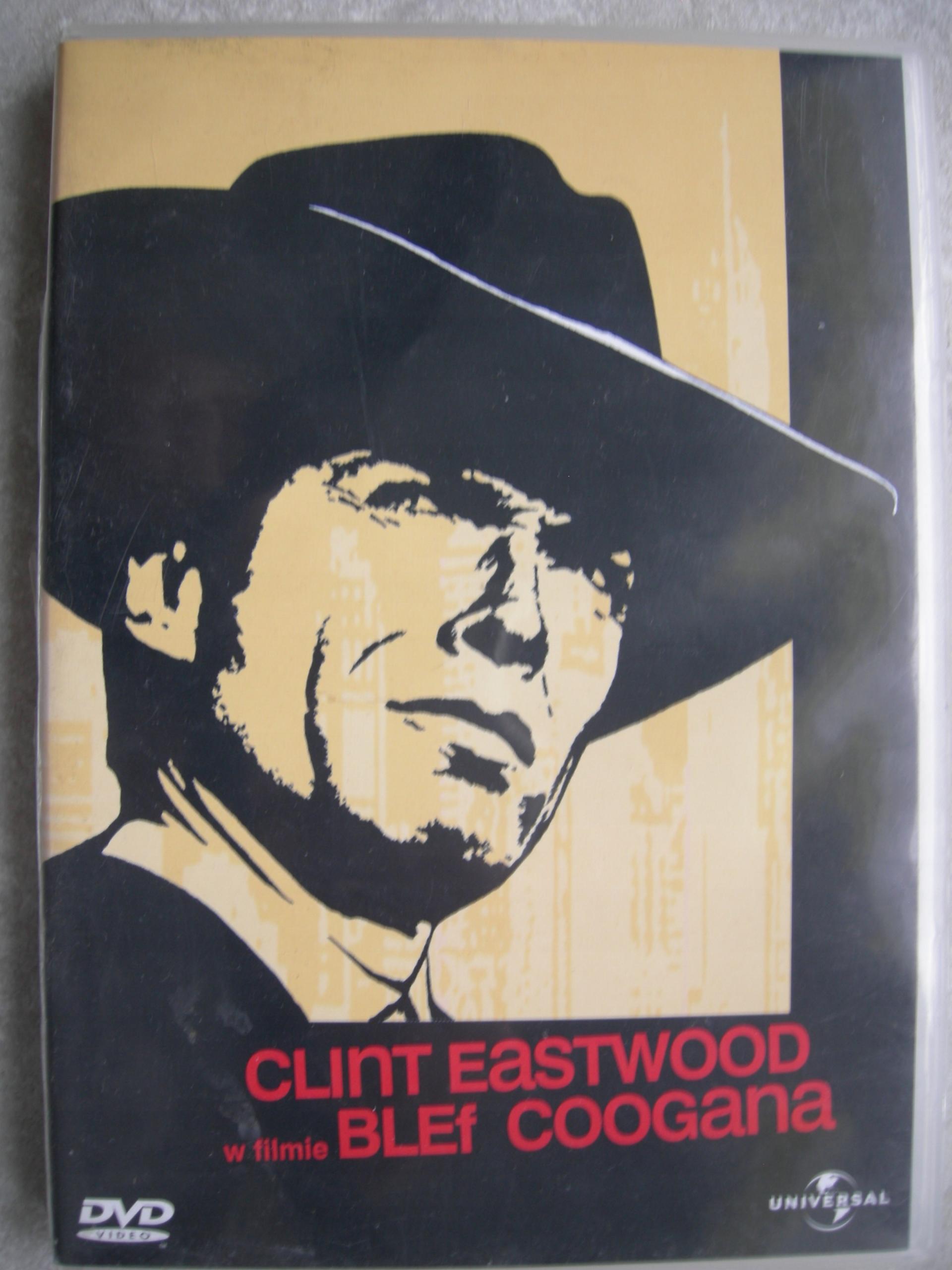 BLEF COOGANA EASTWOOD DVD. STAN BARDZO DOBRY -.