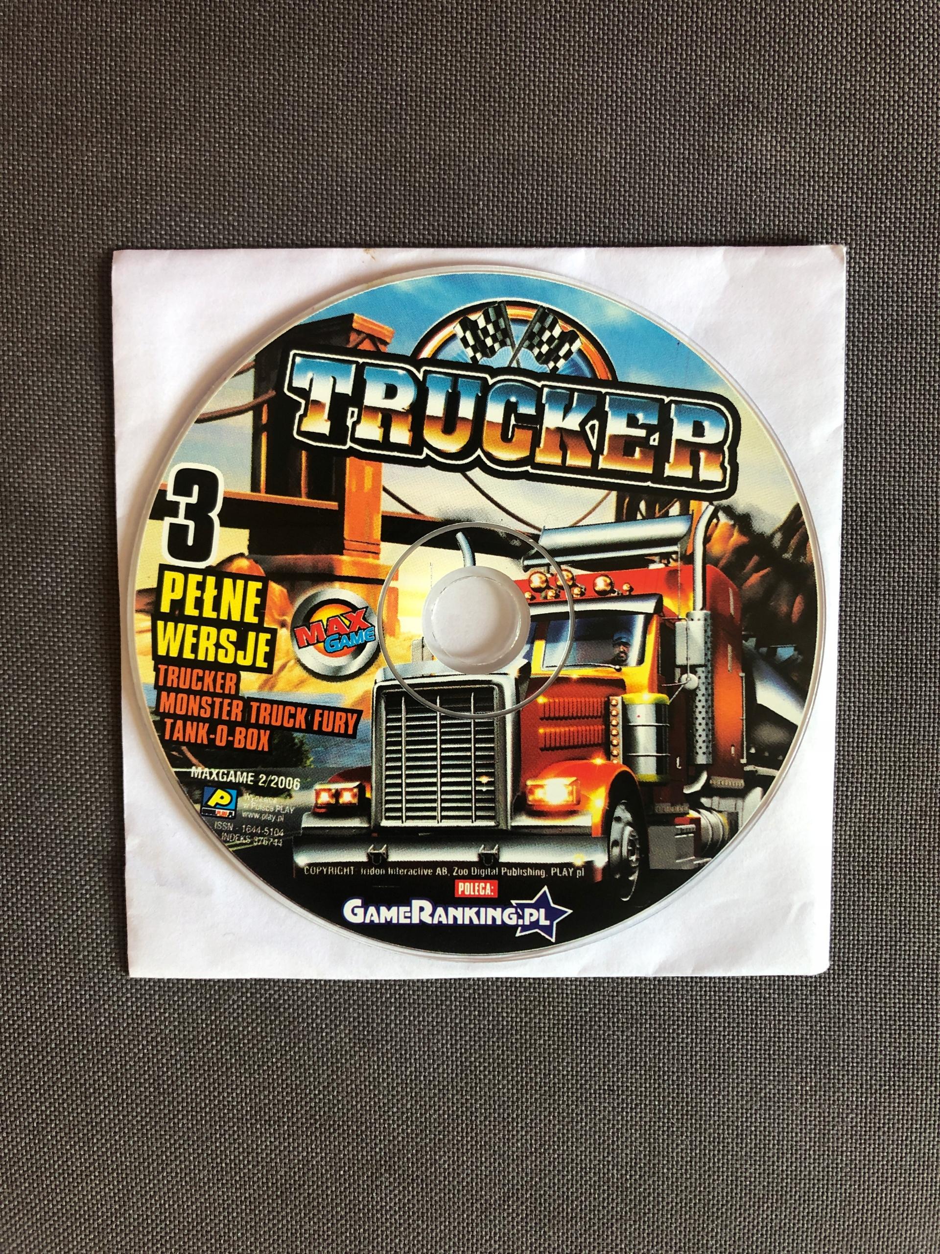 Trucker * Monster Truck Fury * Tank-O-Box 3 wersje