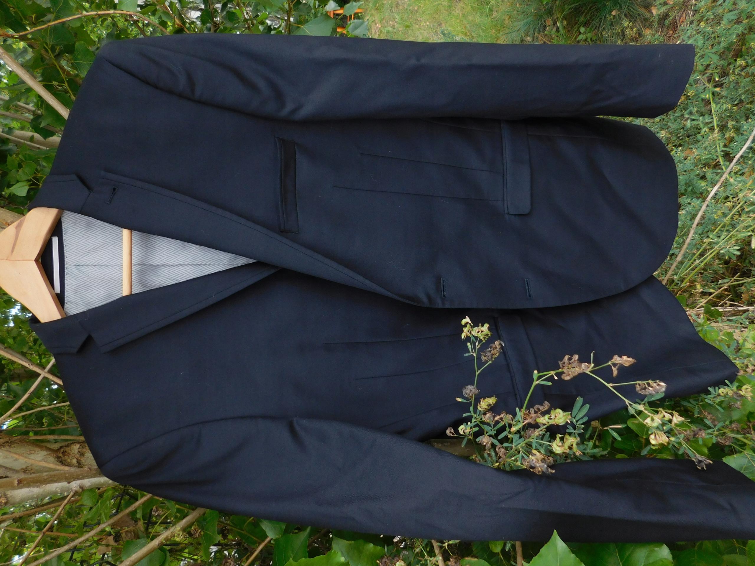 NEXT slim fit 40 wełna spodnie 32