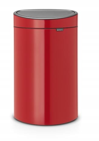 Brabantia Touch Bin Trash Can 40l Passion Red Kosz