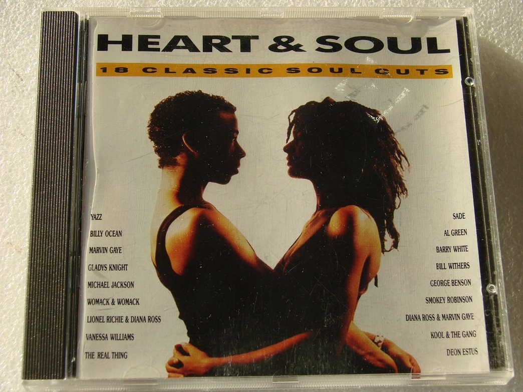 HEART & SOUL 18 CLASSIC SOUL CUTS CD 1989 UK