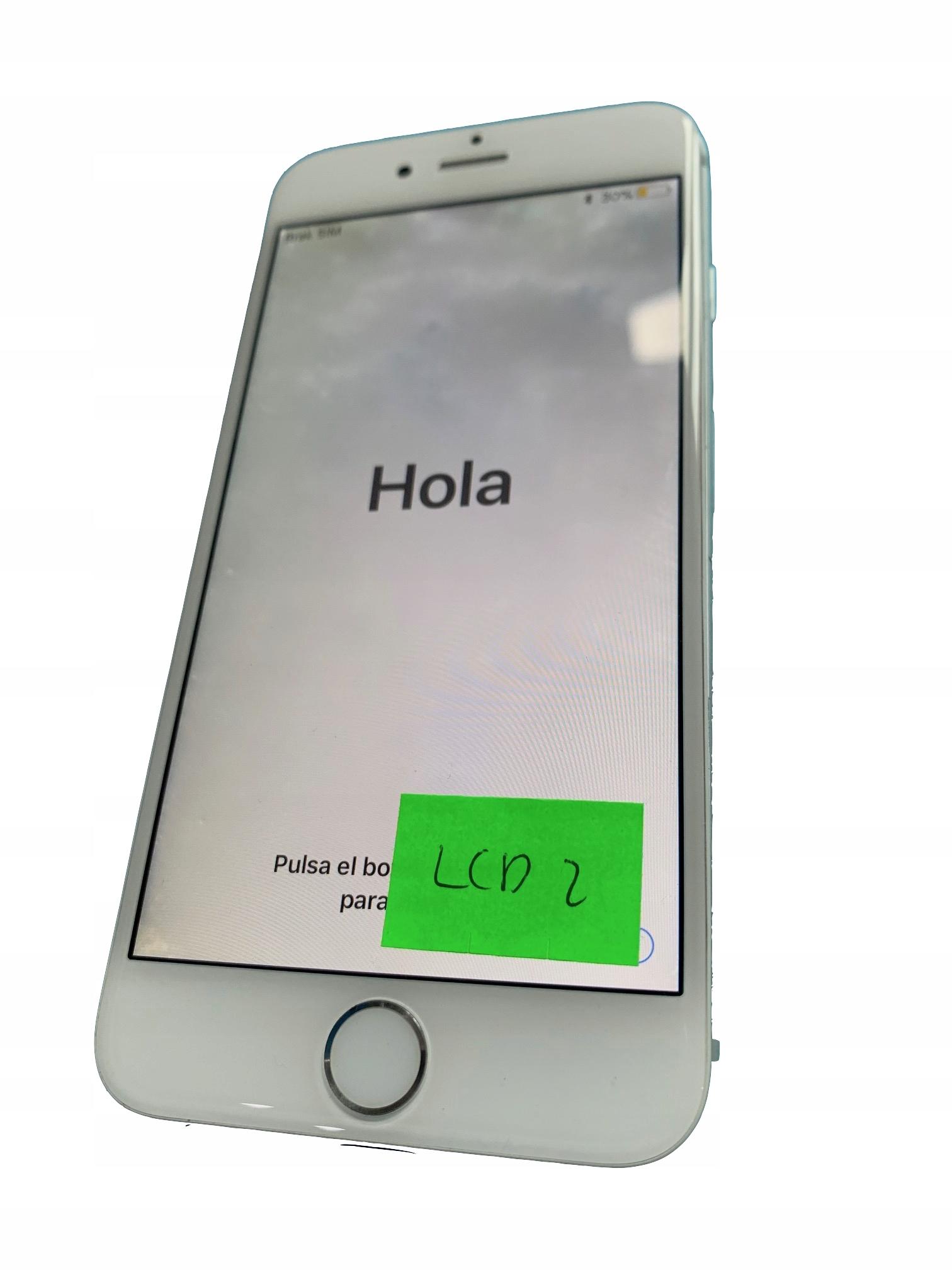 APPLE IPHONE 6 BIALY WYSWIETLACZ ORYGINAL LCD2