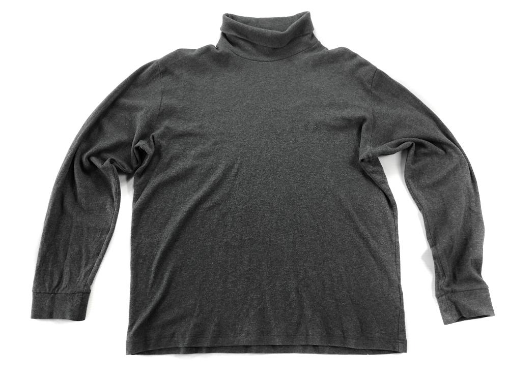 5718 HUGO BOSS szara wygodna bluzka z golfem M