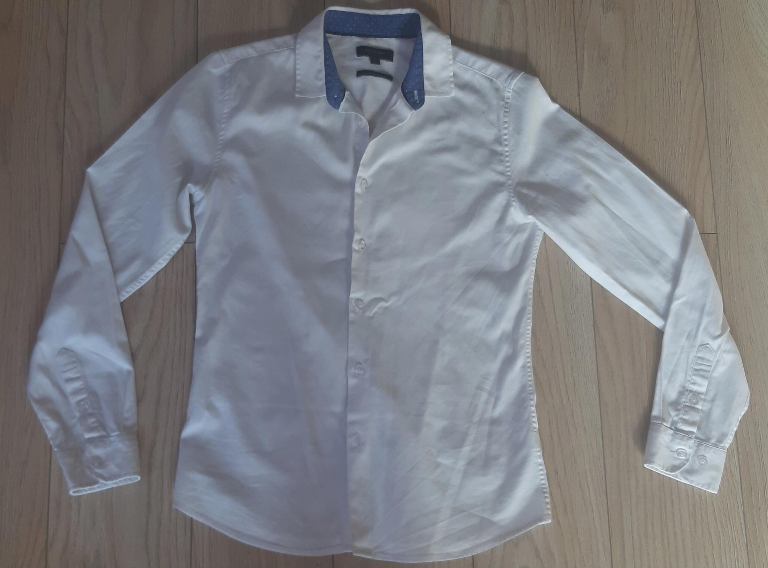 Biała koszula 164 Reserved Slim fit wizytowa