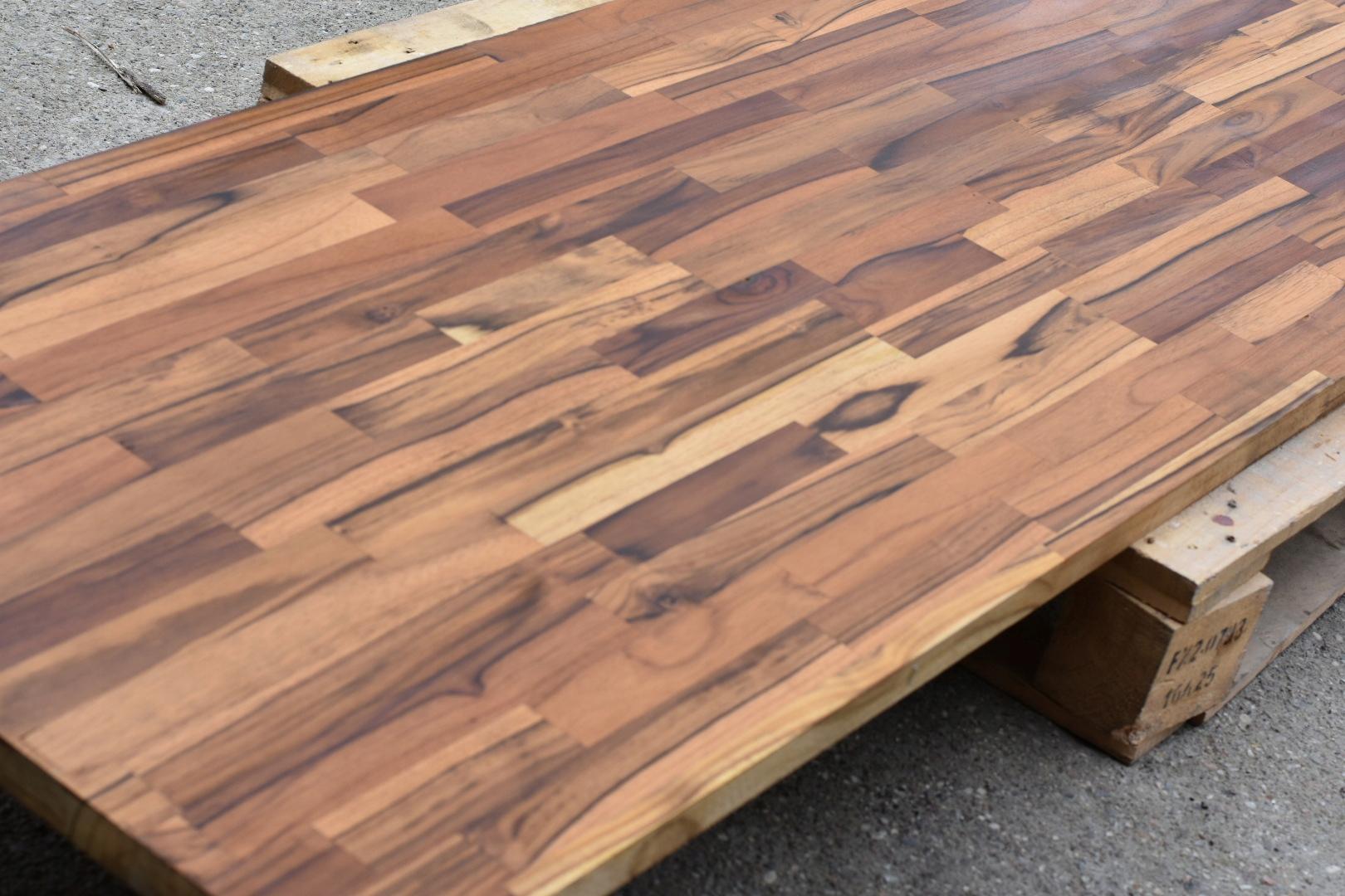Blat Drewniany Teak Do łazienki Kuchni 27x600x2400
