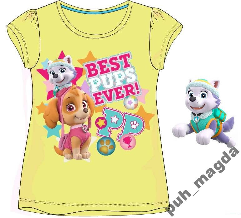 Koszulka T-shirt PSI PATROL 128 8 lat Skye Everest