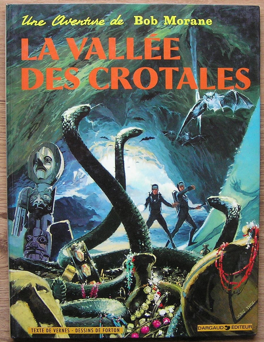 BOB MORANE LA VALLEE DES CROTALES 1975
