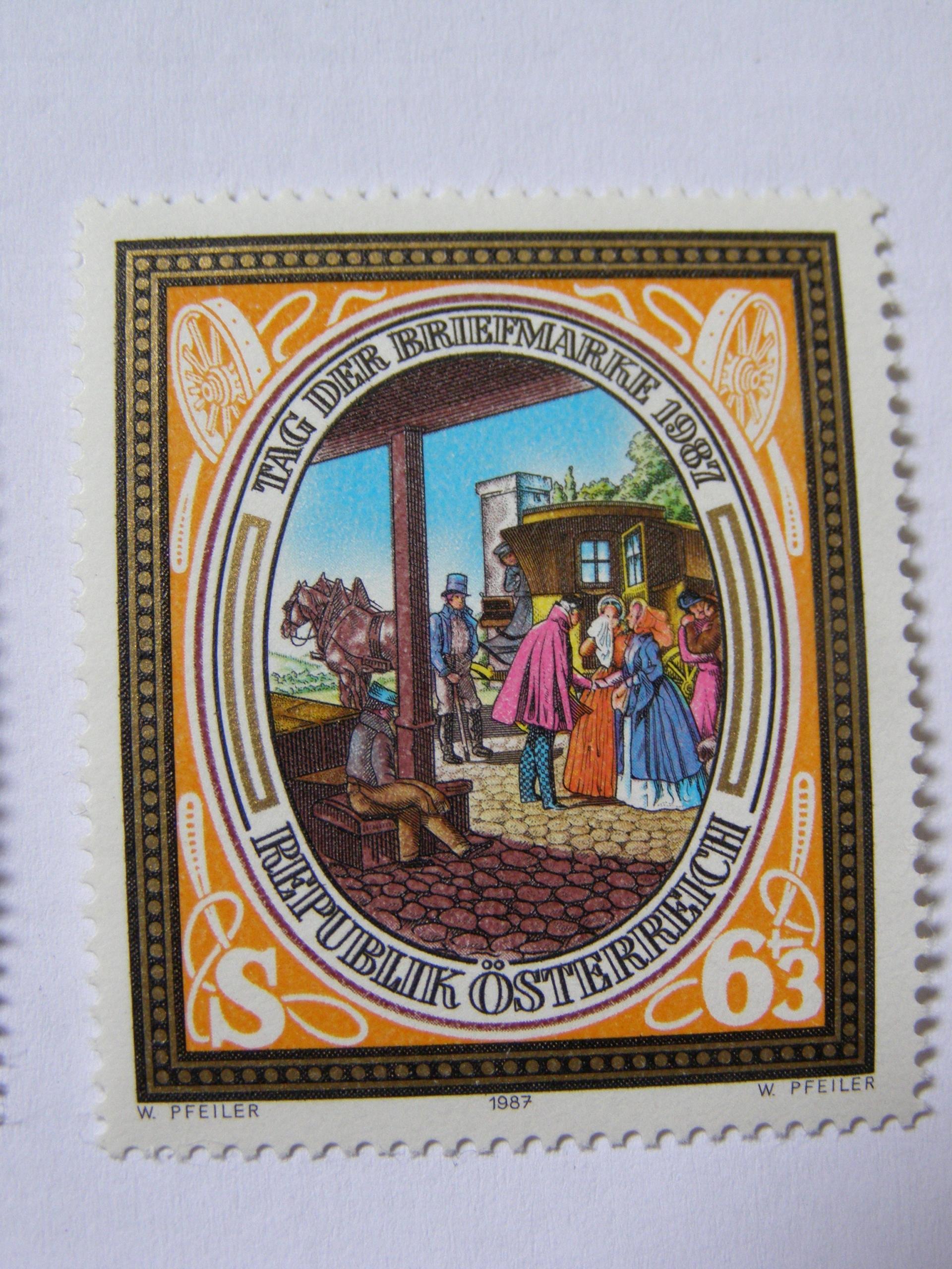 Austria - Dzień Znaczka 1987 - Mi. 1907 **