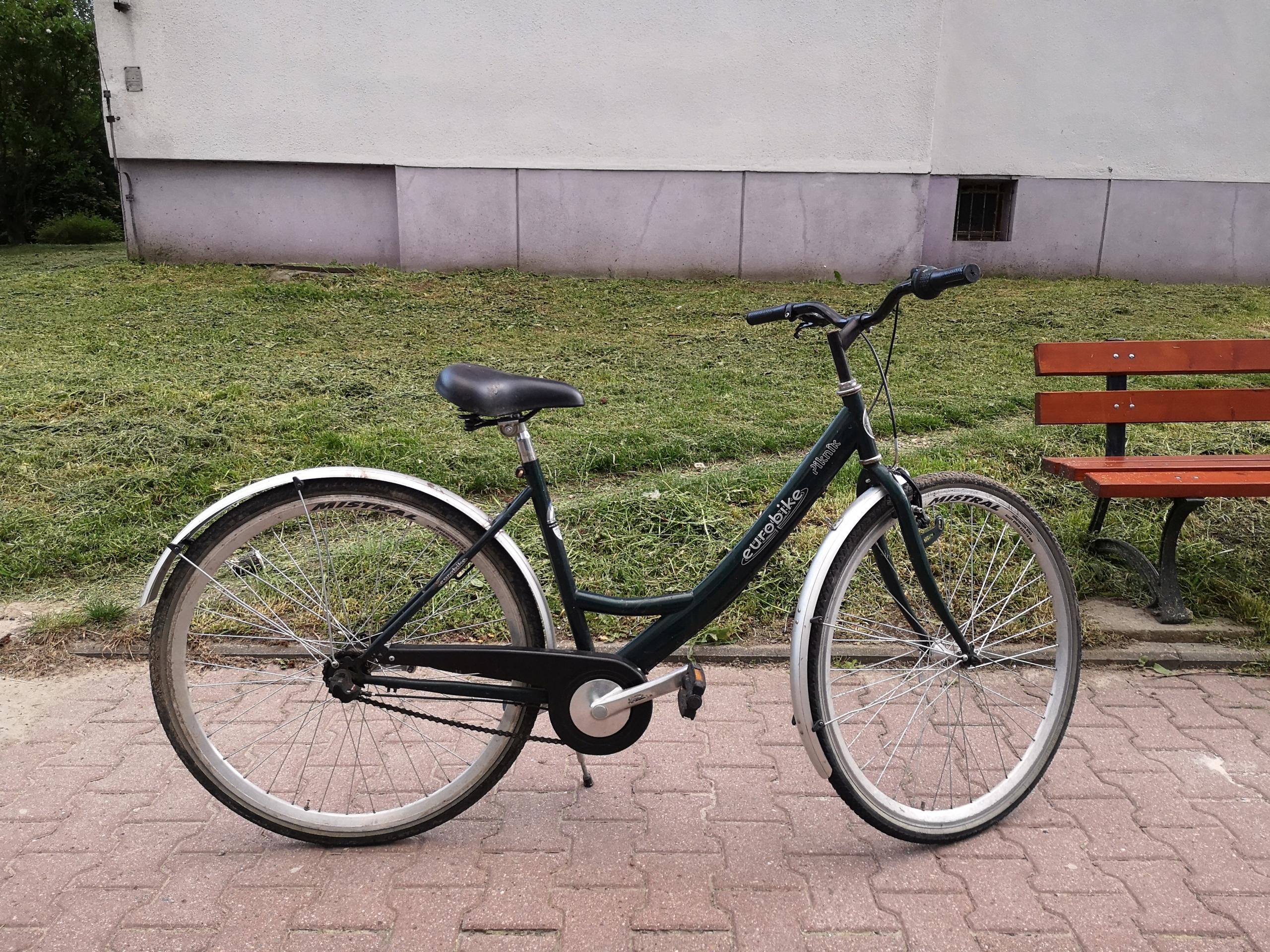 Rower damka Eurobike damski, Nexus, odbiór Kraków