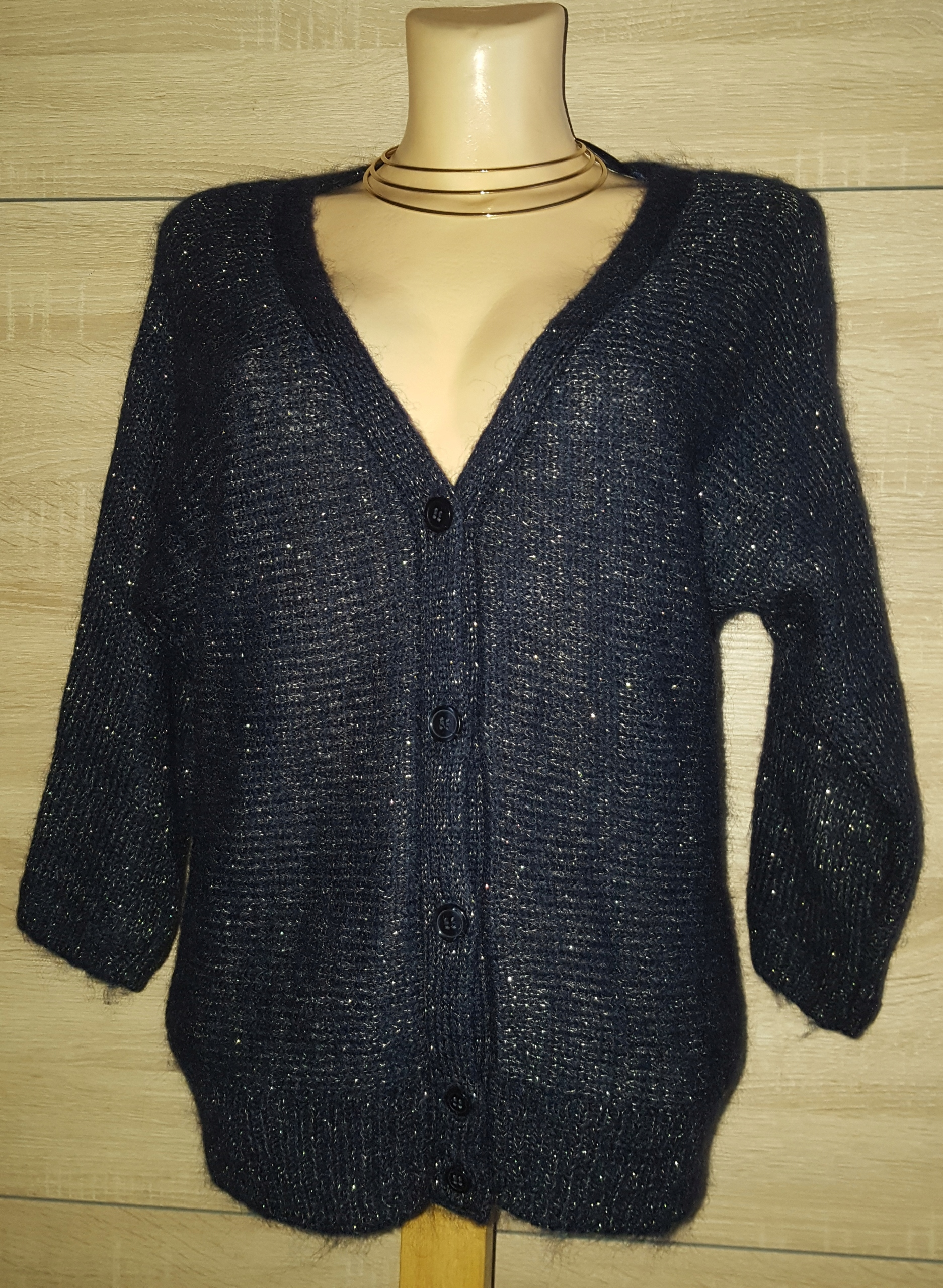 Sweterek damski H&M rozpinany rozmiar M.