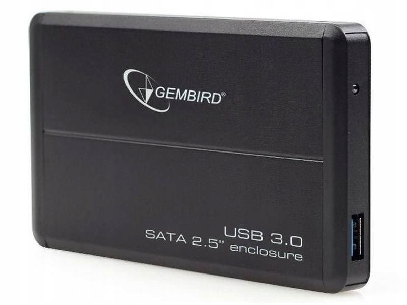 """Obudowa GEMBIRD EE2-U3S-2 (2.5""""; USB 3.0; Alu"""