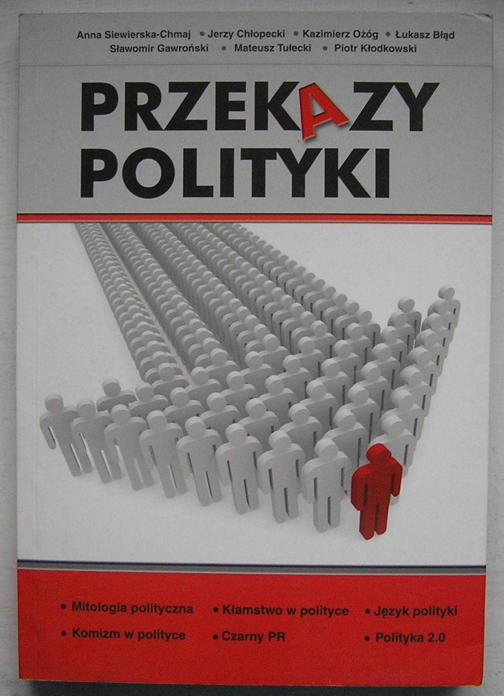 PRZEKAZY POLITYKI 2009 SIEWIERSKA-CHMAJ AUTOGRAF
