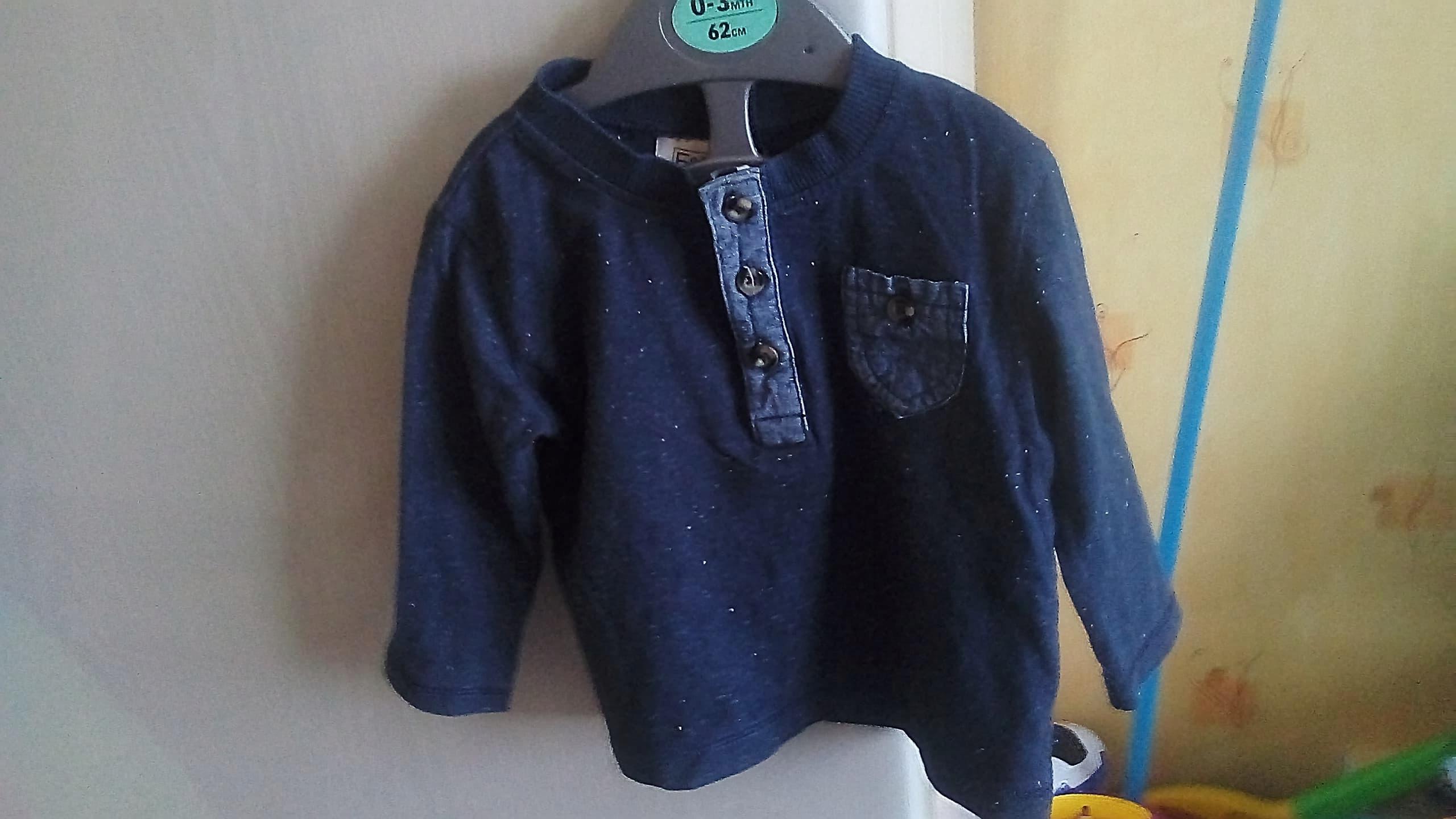 bluzki dla chłopca 3-6
