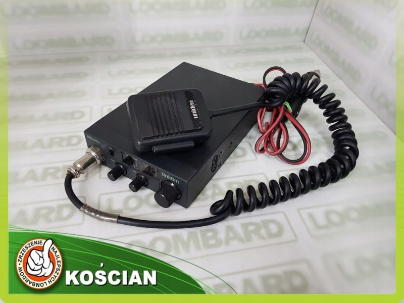 CB RADIO UNIDEN PRO 510 XL + GRUSZKA