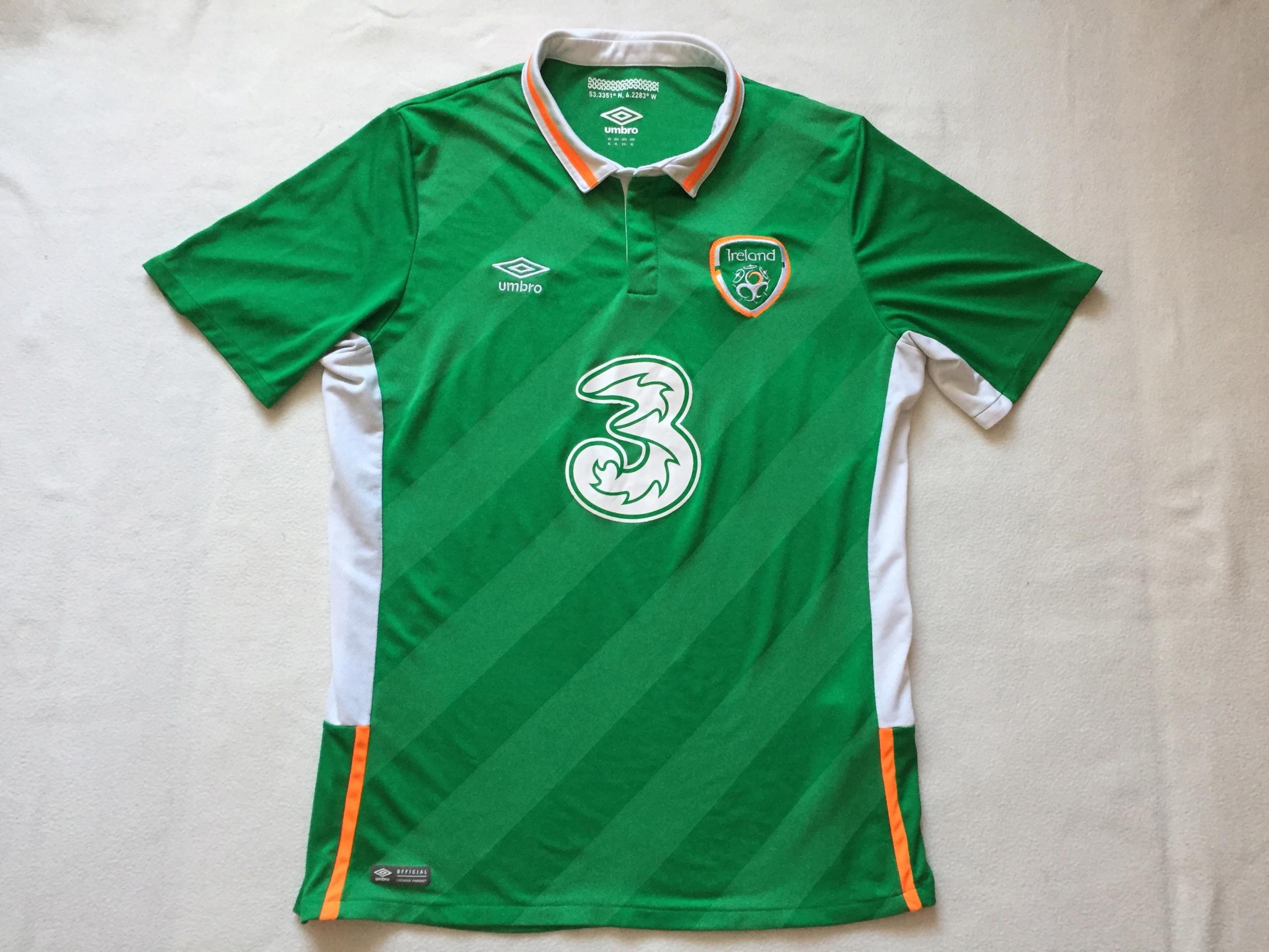 Koszulka reprezentacji Irlandii-rozm.XL