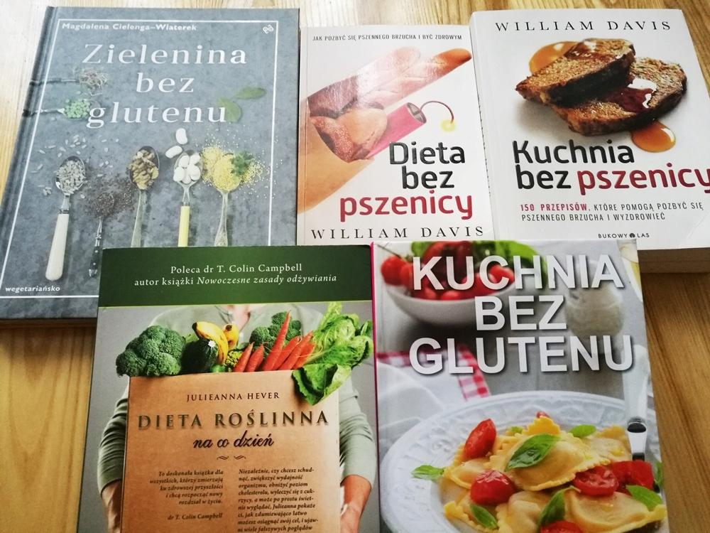 Dieta Bezglutenowabez Pszenicy Pakiet 5 Książek