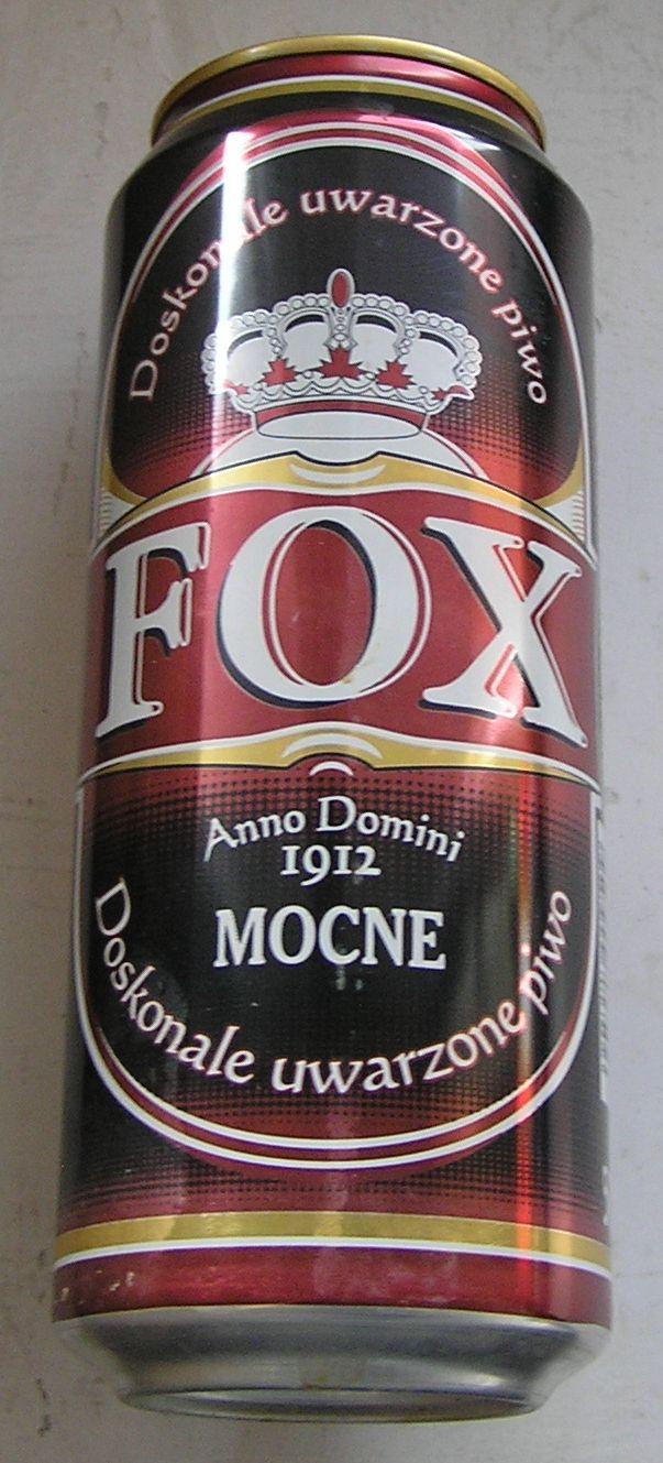 PUSZKA PIWO FOX MOCNE LUBLIN 2007