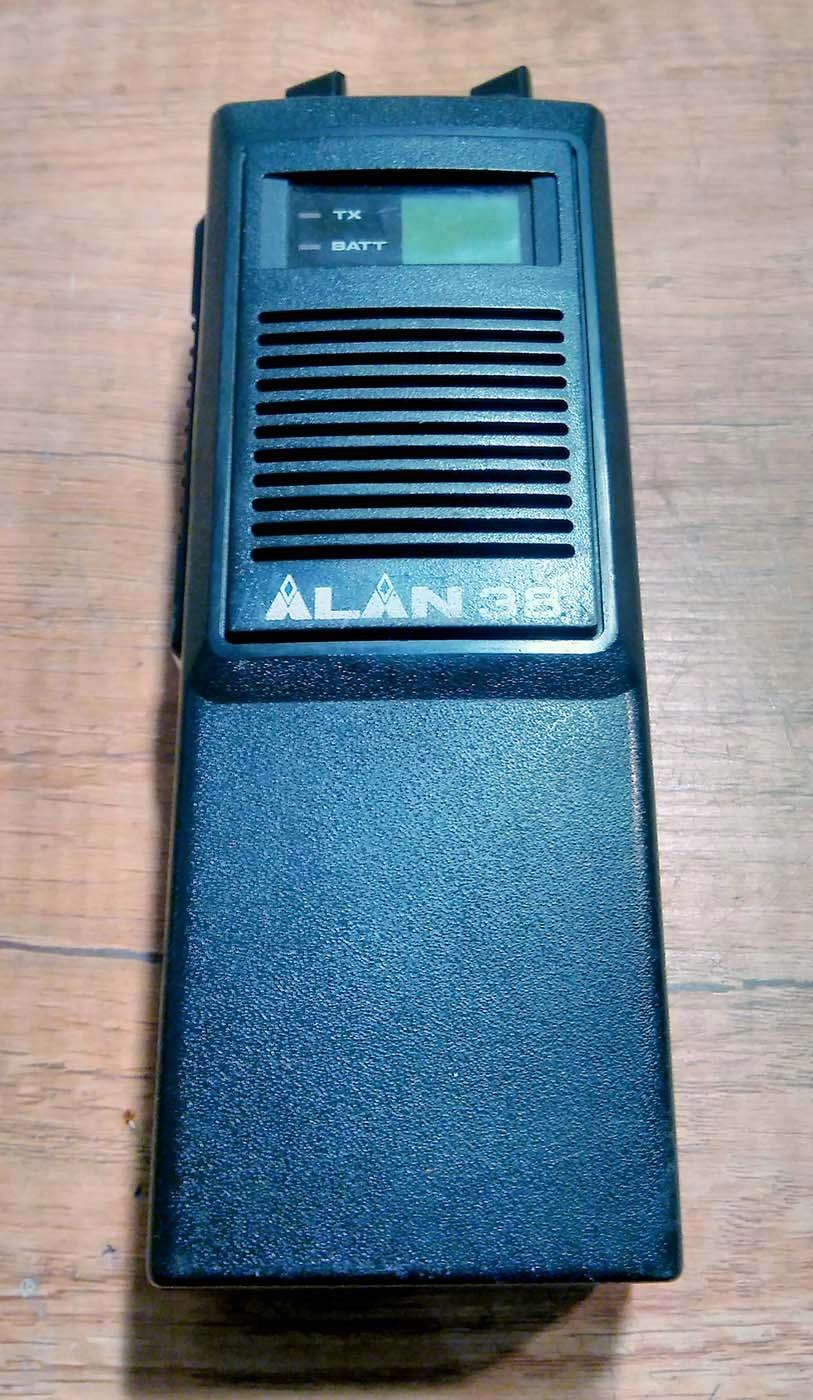 Ręczne CB radio ALAN 38 zapraszam