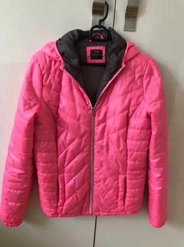 Sinsay- różowa kurtka sportowa, pikowana