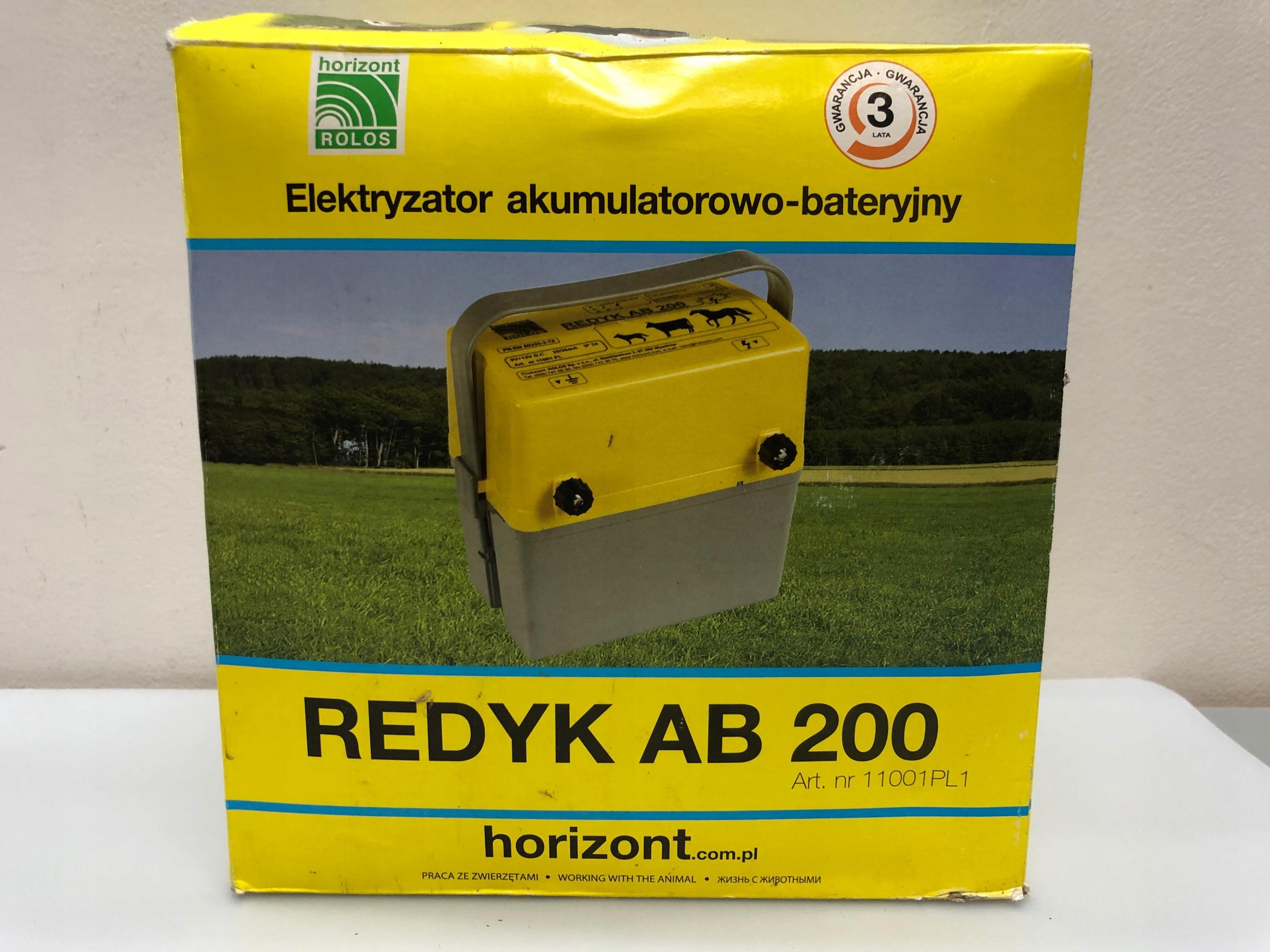 ELEKTRYZATOR REDYK AB200 + BATERIA! HIT! 19114C