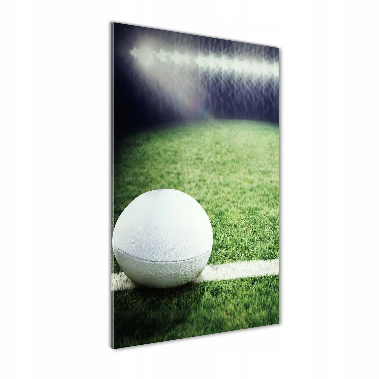 Foto obraz szkło hartowane Piłka w rugby 70x140 cm