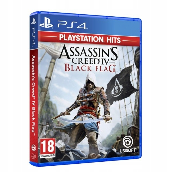 Gra PS4 Assassins Creed IV Black Flag HITS