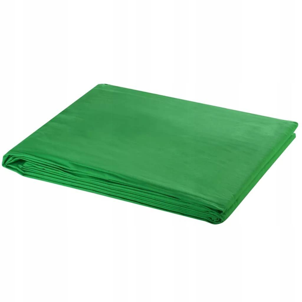 Zielone tło fotograficzne, 600 x 300 cm, chroma ke