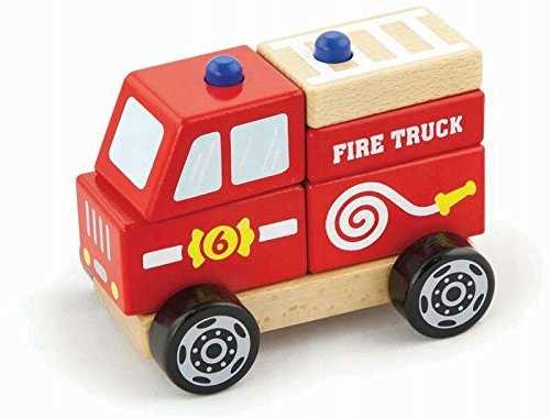 Viga Toys - 50203 - Stacking Fire Truck
