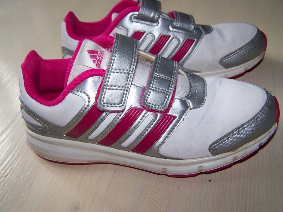 Buty adidasy Adidas fluo 32 rzepki