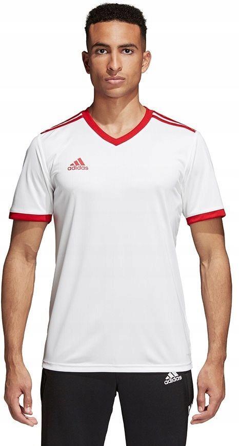 Adidas Koszulka męska Tabela 18 JSY biała r. S (CE