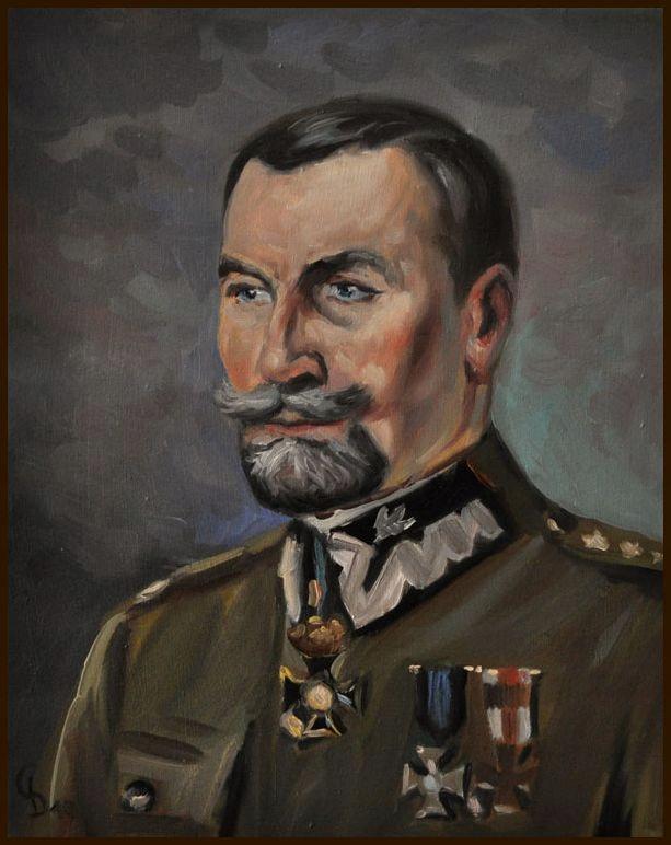 Obraz Generał Tadeusz Rozwadowski 24x30 GIERLACH