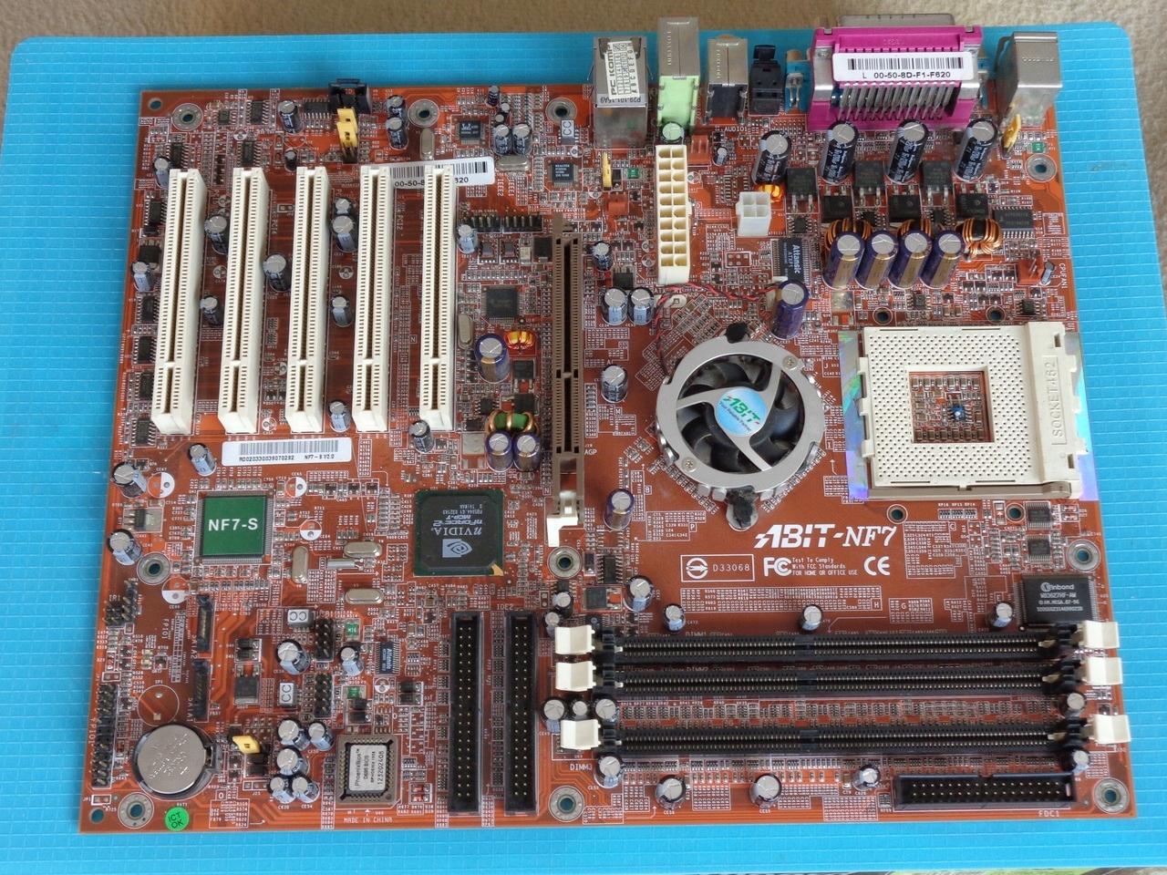 płyta gł ABIT NF7-S v2 0 AMD socketA/462 sata raid