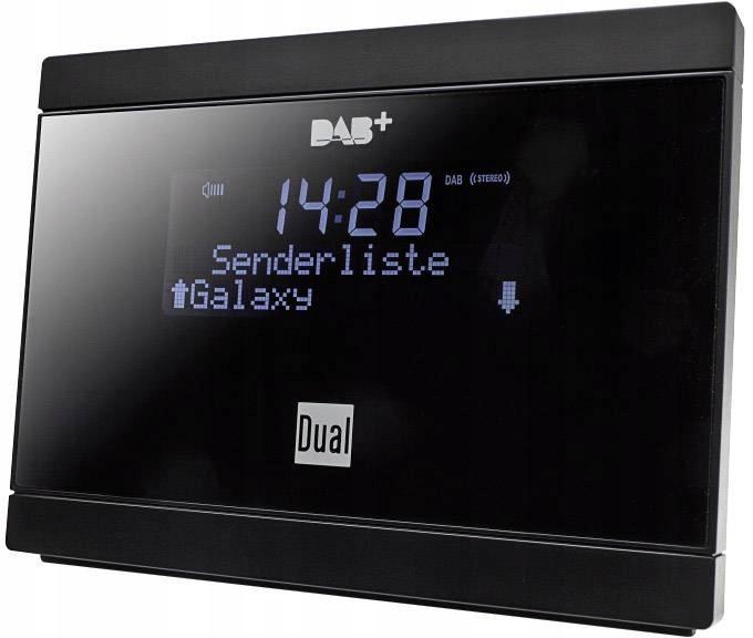 Adapter radia DAB+, FM Dual DAB 2A, 72885, czarny