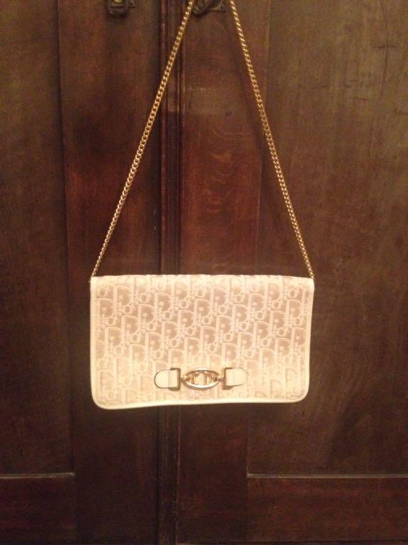 26152c42236c3 Oryginalna torebka Christian Dior vintage - 7136305244 - oficjalne ...