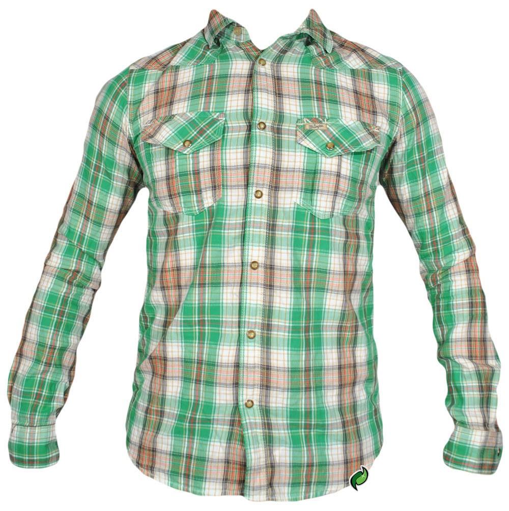 WRANGLER koszula meska SLIM longsleeve _ S r36