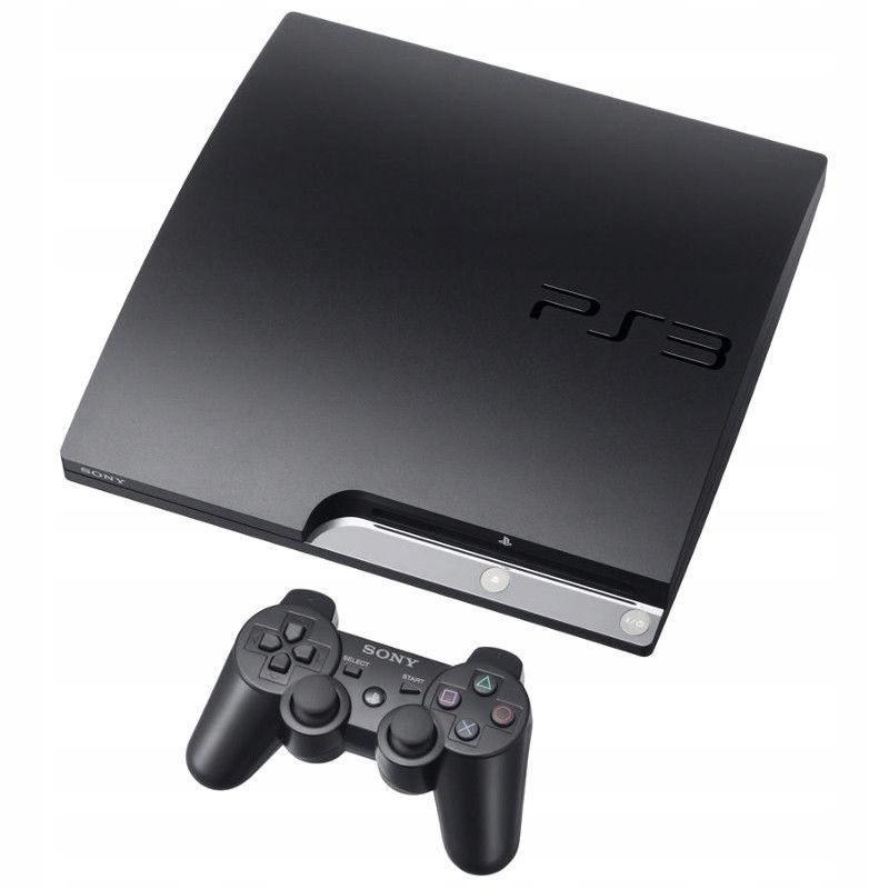 PLAYSTATION PS3 250 GB PAD PILOT + 16 GIER OKAZJA!