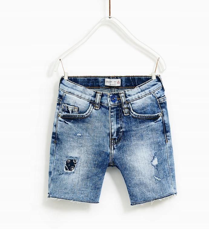 ZARA jeansowe szorty chłopięce 152, 11-12