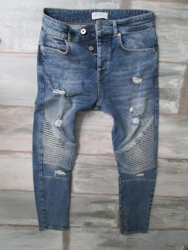 ZARA MAN___ jeans męskie RURKI___ W30L30 38