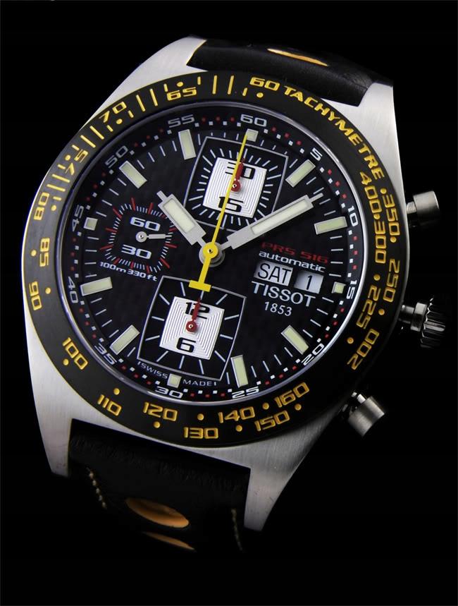Zegarek TISSOT PRS 516 T91.1.427.81 Valjoux 7750