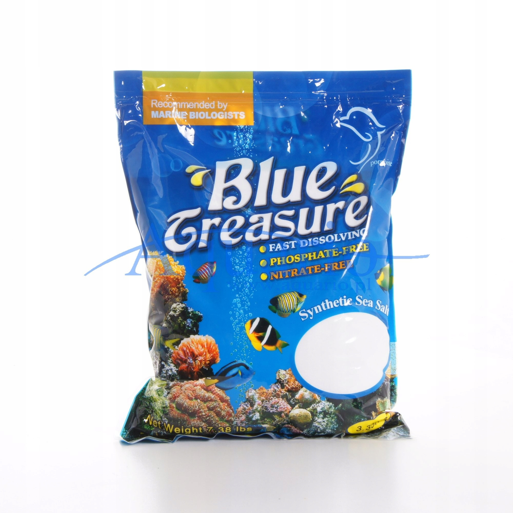 Blue Treasure Reef Sea Salt 3,3kg+GRATISY