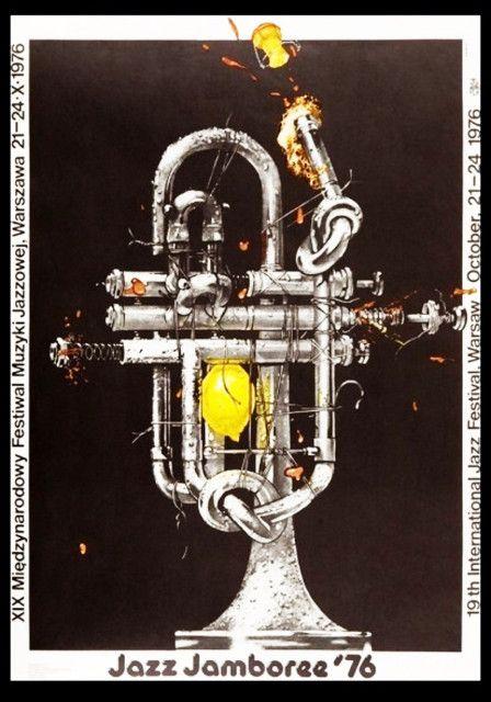 Plakat Muzyczny Jazz Jamboree 76 świerzy Dodruk 7969818387