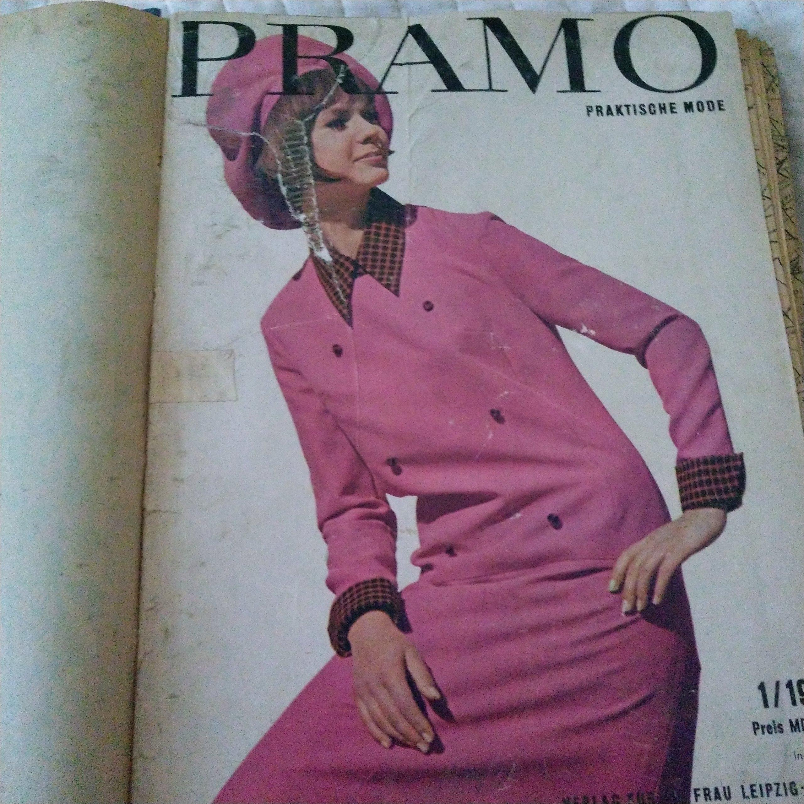 Wykroje moda 1965 r-PRAMO 10 szt